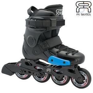 Fr black kids adjustable skates