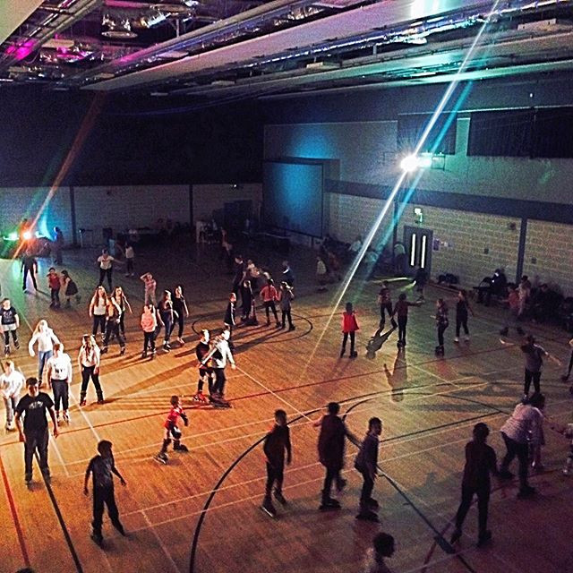 Winsford Roller disco first session