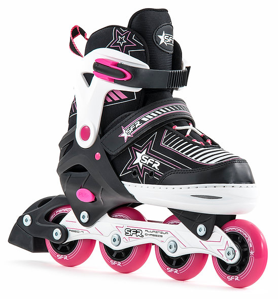 Sfr pulsar adjustable kids rollerblade