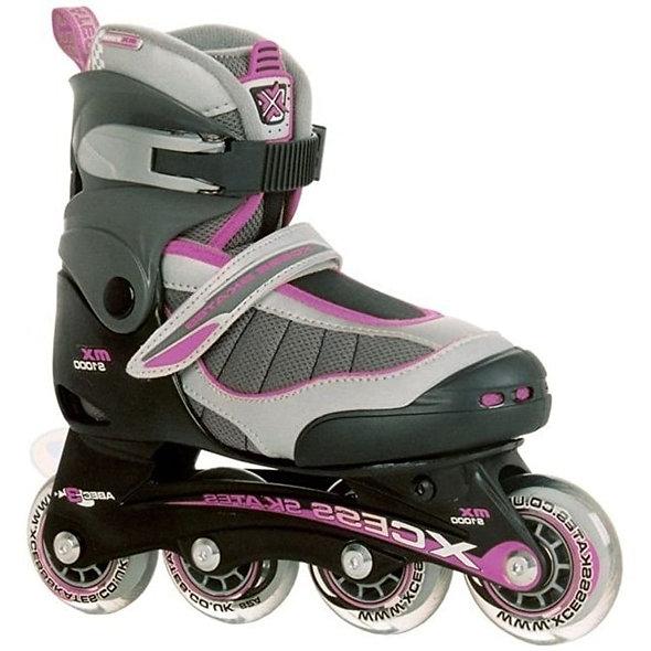 xcess mx 1000 adjustable skate lilac