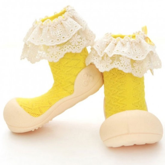 Attipas Baby Walking Shoes-Lady Yellow