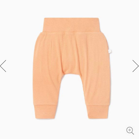 Mori Ribbed Comfy Jogger Orange