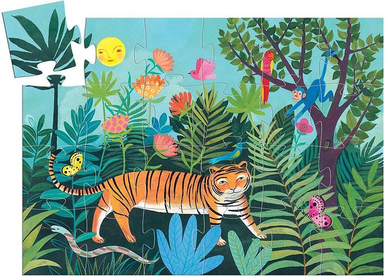 DJ07201 The Tiger's Walk 24pc Puzzle