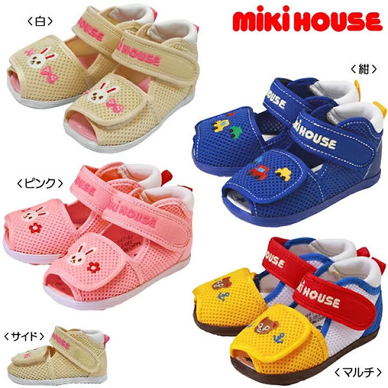 Mikihouse Mesh Sandals