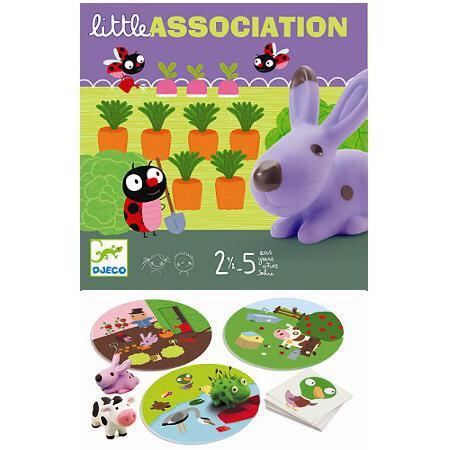DJ08553 Little Association Board Game