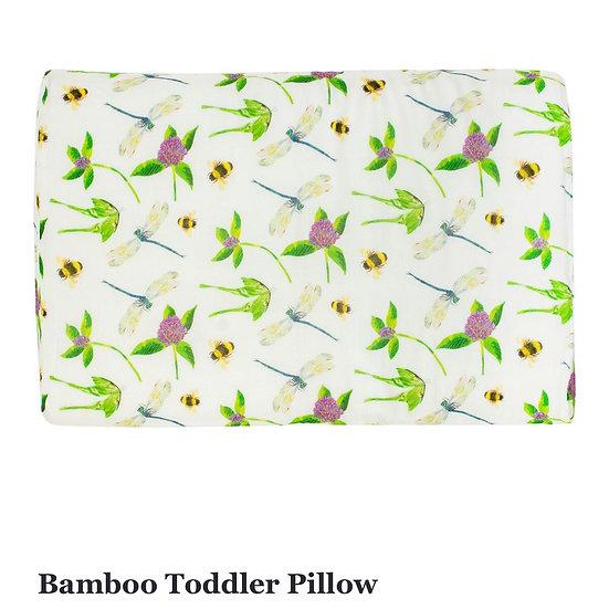 Nest Designs Bamboo Toddler Pillow Garden Fly