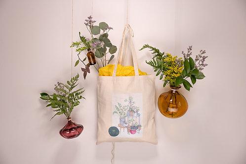 The Art Pot Botanical Summer Totes