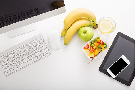 Office set up and fruit.jpg