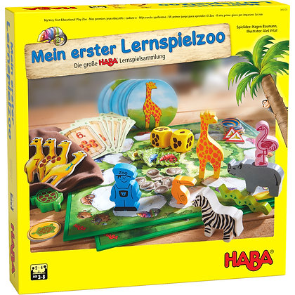 My Very First Educational Play Zoo (Haba 305173)