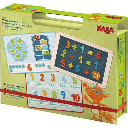 Magnetic Game Box 1, 2 Numbers & You (Haba 302589)
