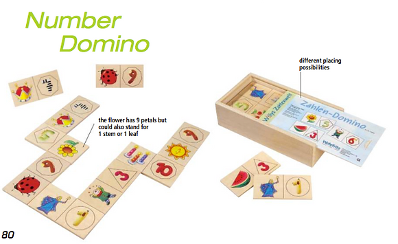Number domino (Haba House of Education 133939)