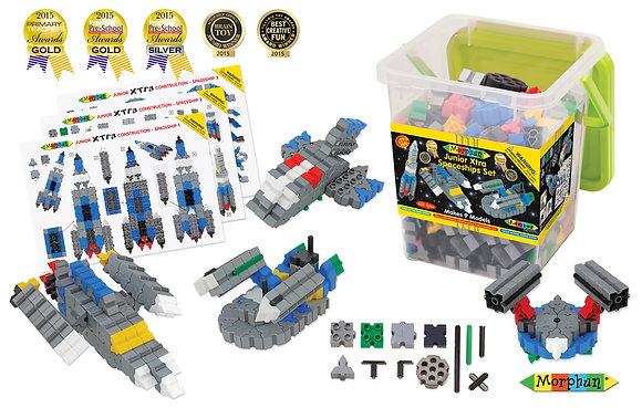 Junior Xtra Spaceships Set (Morphun 26700) 4yrs+