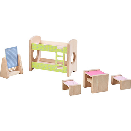 Little Friends - Dollhouse Furniture Children's Room for Two (Haba 303836)
