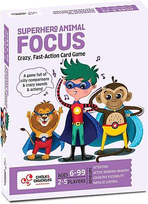 Superhero Animal Focus (Chalk & Chuckles CCPPL059) 6yrs+