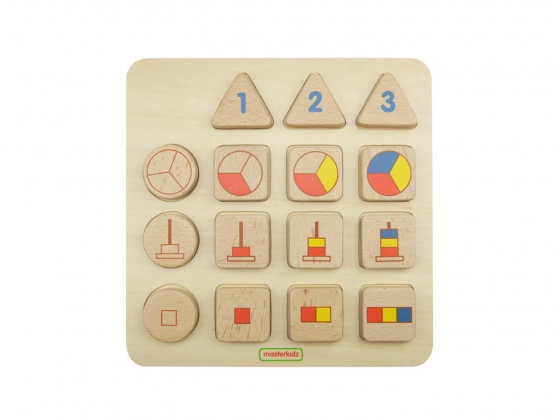 Number Representations Learning Board (Masterkidz MK08824) 2yrs+