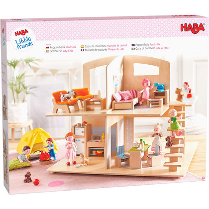 Little Friends – City Villa Dollhouse (Haba 305638)