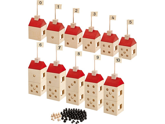 Willy's Number Houses, Set (Haba 133931)