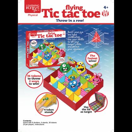 Flying Tic Tac Toe  (4yrs+)