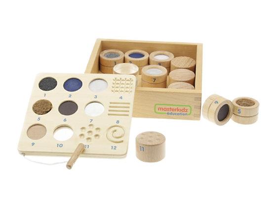 Tactile Training Texture and Material Teaching Set (Masterkidz ME05359)