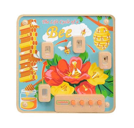 Wall Element - Light-Up Bee Life Cycle Stages Panel (Masterkidz ME14054)