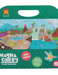 Magna Carry - Dino World ~ Magnetic Sets (Tiger Tribe)