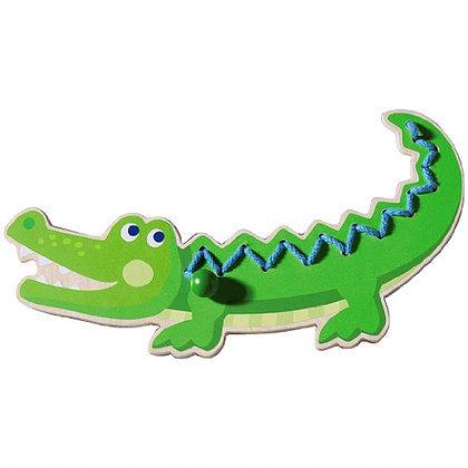 Threading Animal Crocodile (Haba 300190)