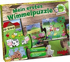 My First Wimmel Puzzles – Farm(HABA 301098)