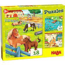 Puzzles Farmyard Animals(HABA 305237)