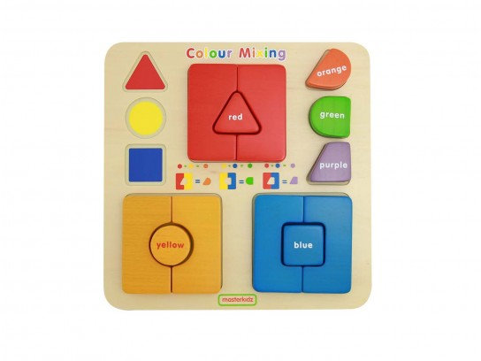 Self-Correcting Colour Mixing Learning Blocks (Masterkidz MK10124) 2y+