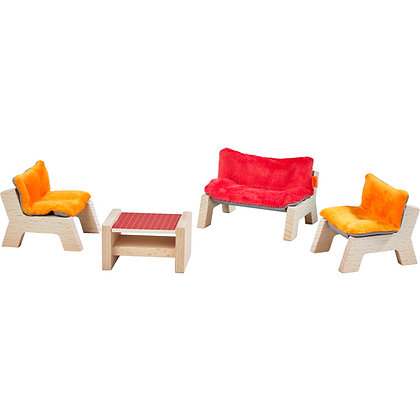 Little Friends - Dollhouse Furniture Living Room (Haba 303840)