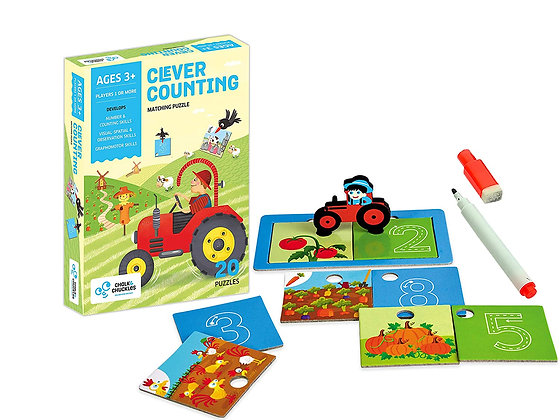 Clever Counting (Chalk & Chuckles CCPPL032) 3yrs+