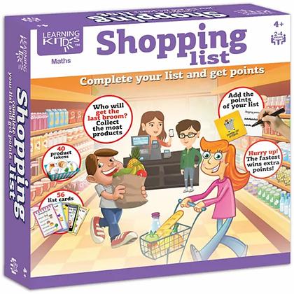 Shopping List  (4yrs+)