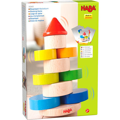 Stacking Game Wobbly Tower (Haba 305403)