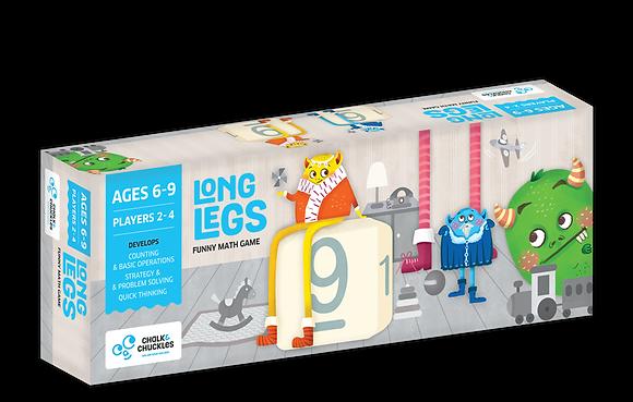 Long Legs (Chalk & Chuckles CCPPL026) 6yrs+