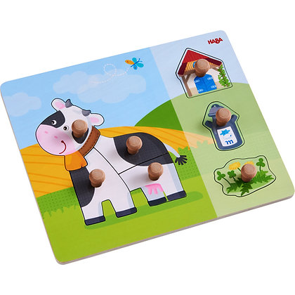 Clutching puzzle Annabell the Cow (Haba 304591)