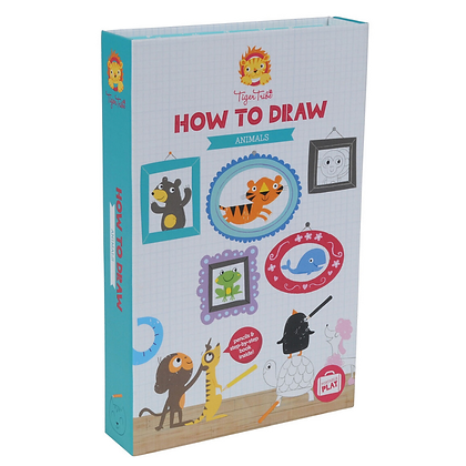 How to Draw-Animals (Tiger Tribe)