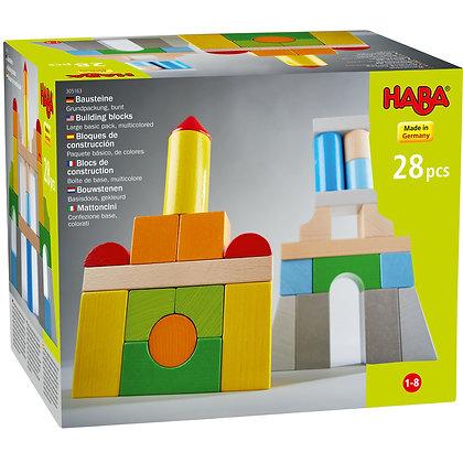 Building blocks – Basic pack, multicolored (Haba305163)