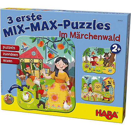 3 first mix max puzzles- In the fairytale forest(HABA 304432)