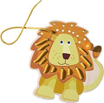 Threading Animal Lion (Haba 300189)