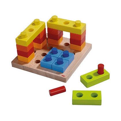 Pegging Game Color Fun (Haba 2188) 2yrs+