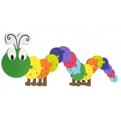 Alphabet Caterpillar Puzzle (Orange Tree Toys)