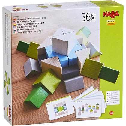 3D Arranging Game Nordic Mosaic (Haba 305461)
