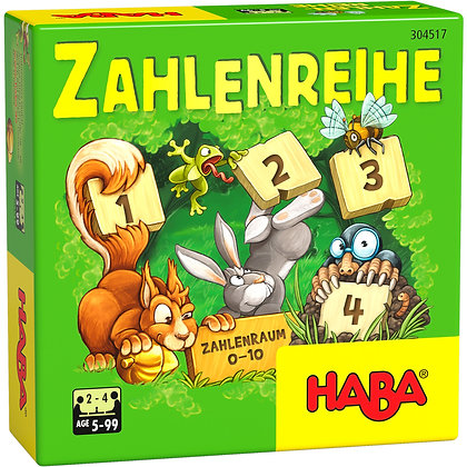 Number Sequence (Haba 304517) 5yrs+