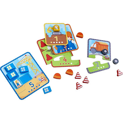 Matching Game Build & Count (Haba 303278) 1.5yrs+