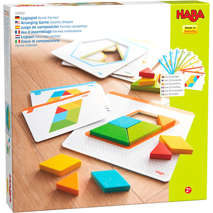 Arranging Game Colorful Shapes (Haba305952)