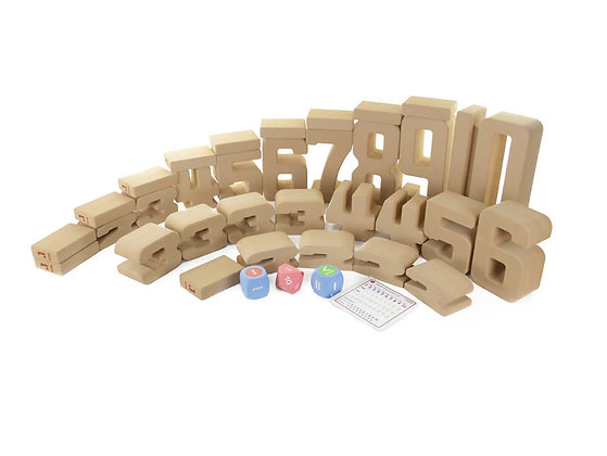 Giant Soft Numbers Learning Block Set 37 Pieces (Masterkidz ME08732)