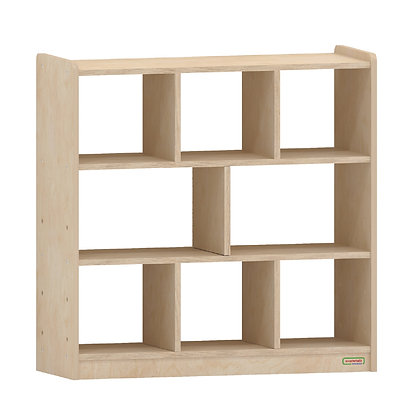 8 Compartment Shelving Unit - Open Back (Masterkidz ME10513)