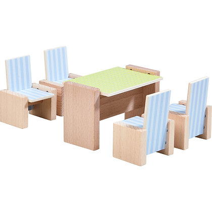 Little Friends – Dollhouse Furniture Dining Room (Haba 303839)