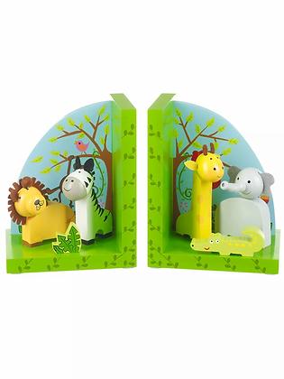 Safari Bookends(Orange Tree Toys)