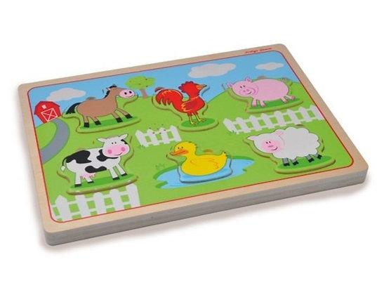 Farm Sound Puzzle (Indigo Jamm JIJ9053)